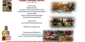 Happy Holiday Buffet